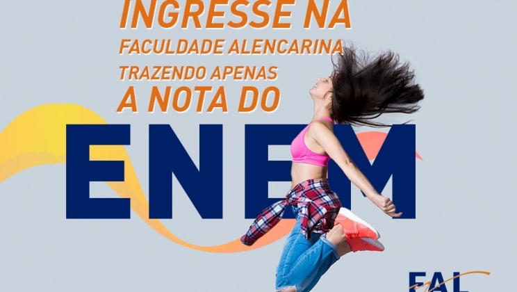 FIES 2019: Use sua nota do Enem na FAL